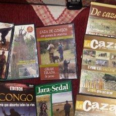 Cine: CAZA. 8 DVD. Lote 102604600
