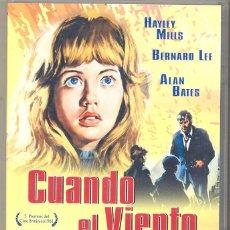 Cine: CUANDO EL VIENTO SILBA DVD - UNA NIÑA RECOGE A UN FUGITIVO EN LA GRANJA DONDE VIVE..¿HIZO BIEN?. Lote 40312633
