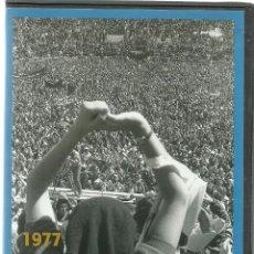 Cine: DVD - LOS AÑOS DEL NO-DO - LO QUE SE CONTABA Y OCULTABA DURANTE LA DICTADURA - 1977 EL PUEBLO HABLA. Lote 102683831