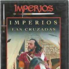 Cine: DVD CINE - LAS CRUZADAS - LA LUCHA ENTRE ORIENTE Y OCCIDENTE - COLECCION IMPERIOS - NUEVO. Lote 102686455