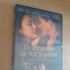 Cine: CINE DVD PELICULA EL LENGUAJE DE LOS SUEÑOS. Lote 102715355