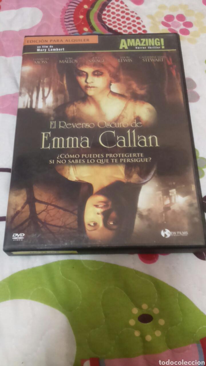 DVD. EL REVERSO OSCURO DE EMMA CALLAN. DESCATALOGADA. TERROR. (Cine - Películas - DVD)