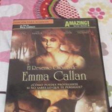 Cine: DVD. EL REVERSO OSCURO DE EMMA CALLAN. DESCATALOGADA. TERROR.. Lote 102722486