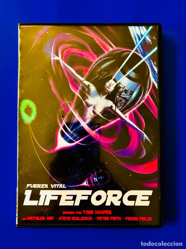 LIFEFORCE - FUERZA VITAL DVD - TOBE HOOPER (Cine - Películas - DVD)