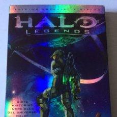 Cine: DVD HALO LEGENDS. EDICIÓN ESPECIAL 2 DISCOS. WARNER BROS. 2010. Lote 102851044