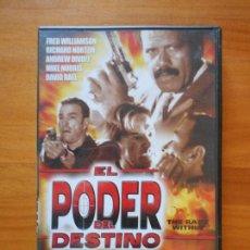 Cine: DVD EL PODER DEL DESTINO - FRED WILLIAMSON - RICHARD NORTON - ANDREW DIVOFF (7P). Lote 102914383