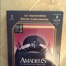 Cine: AMADEUS. EL MONTAJE DEL DIRECTOR (EDICION ESPECIAL DOS DISCOS) DVD. Lote 103051103