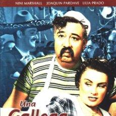 Cine: CINE GOYO - DVD - UNA GALLEGA EN MEXICO - NINI MARSHALL - J PARDAVE - JORGE NEGRETE -RARISIMA- *AA98. Lote 103138519