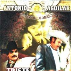 Cine: CINE GOYO - DVD - TRISTE RECUERDO - ANTONIO AGUILAR - FLOR SILVESTRE - MANUEL OJEDA - RARA- *AA99. Lote 103139395