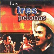 Cine: CINE GOYO - DVD - LAS TRES PELONAS - ANTONIO AGUILAR - RODOLFO LANDA - DAVID REYNOSO - RARA- *AA98. Lote 103139887