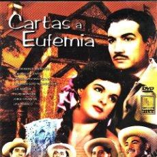 Cine: CINE GOYO - DVD - CARTAS A EUFEMIA - VICTOR MENDOZA - MIGUEL ACEVES MEJIA - ALMA DELIA - RARA- *AA98. Lote 103147715