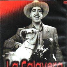 Cine: CINE GOYO - DVD - LA CALAVERA NEGRA - LUIS AGUILAR - ESPERANZA ISA - DAGOBERTO RGUEZ - RARA- *AA98. Lote 103147991