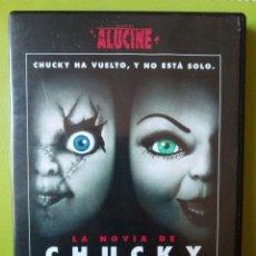Cine: DVD - LA NOVIA DE CHUCKY (1998) RONNY YU. Lote 103357043