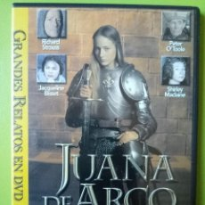 Cine: JUANA DE ARCO DVD JACQUELINE BISSET PETER O'TOOLE PETER STRAUSS. Lote 103357687