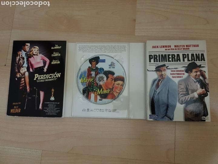 Cine: EXCELENTE PACK 6 DVD BILLY WILDER PERDICIÓN, PRIMERA PLANA, 5 TUMBAS AL CAIRO ETC... - Foto 4 - 103455292