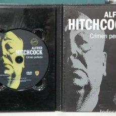 Cine: CRIMEN PERFECTO. ALFRED HITCHCOCK. LIBRO + DVD. Lote 103502059
