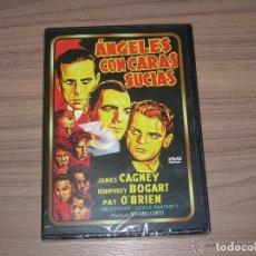 Cine: ANGELES CON CARAS SUCIAS DVD JAMES CAGNEY HUMPHREY BOGART PAT O'BRIEN NUEVA PRECINTADA. Lote 195285223
