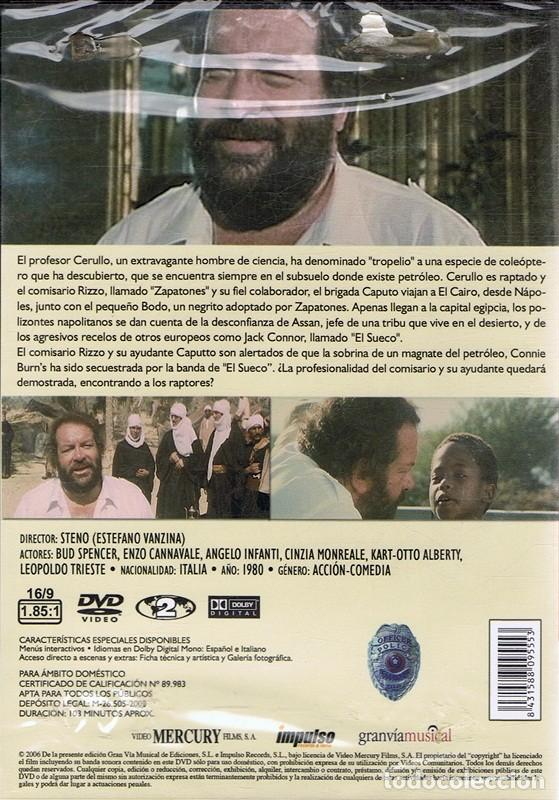 Cine: DVD ZAPATONES TERENCE HILL & BUD SPENCER (PRECINTADO) - Foto 2 - 103683855