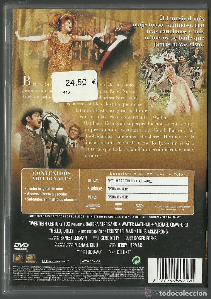 Cine: DVD CINE - HELLO, DOLLY! - NUEVO CON EL PRECINTO ORIGINAL - Foto 2 - 103878231