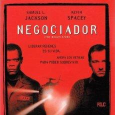 Cine: DVD NEGOCIADOR SAMUEL L. JACKSON & KEVIN SPACEY . Lote 103913919