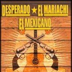 Cine: !!! EL MARIACHI + DESPERADO + EL MEXICANO !!! DVD COMO NUEVO *** EDICION ESPAÑOLA *** AL. Lote 103961551