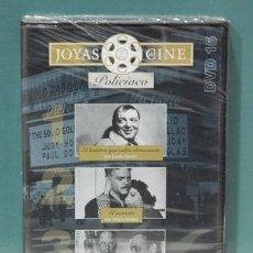Cine: JOYAS DEL CINE POLICIACO, 3 PELICULAS. DVD PRECINTADO. Lote 103975235
