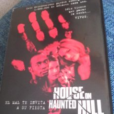 Cine: HOUSE OF HAUNTED HILL.. Lote 104259647