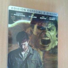 Cine: CINE DVD PELICULA EL INCREIBLE HULK EDICION ESPECIAL METALICA 2 DISCOS. Lote 104263655