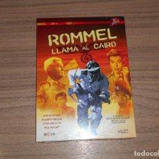 Cine: ROMMEL LLAMA AL CAIRO DVD NUEVA PRECINTADA. Lote 104376259