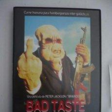 Cine: MAL GUSTO / BAS TASTE (1987) DVD.. Lote 104292179