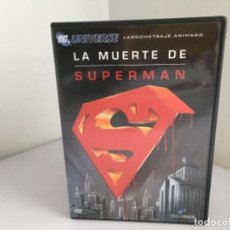 Cine: LA MUERTE DE SUPERMAN. Lote 104292483