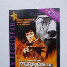 Cine: DVD - PERROS DE PAJA. Lote 104338498