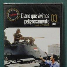 Cine: EL AÑO QUE VIVIMOS PELIGROSAMENTE. DIRECTOR, PETER WEIR. DVD PRECINTADO. Lote 104357995
