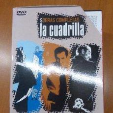 Cine: LA CUADRILLA. SOBRAS COMPLETAS: MATÍAS JUEZ DE LÍNEA, ATILANO PRESIDENTE, JUSTINO UN ASESINO ... . Lote 104393583