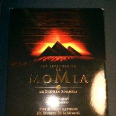 Cine: LAS LEYENDAS DE LA MOMIA TRILOGÍA DVD. Lote 104414107