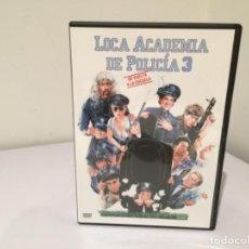 Cine: LOCA ACADEMIA DE POLICÍA 3 DE VUELTA A LA ESCUELA. Lote 104414191