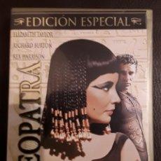 Cine: CLEOPATRA CON ELIZABETH TAYLOR, RICHARD BURTON, REX HARRISON. EDICIÓN ESPECIAL 3 DVD'S . Lote 104414419