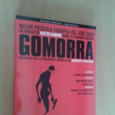 Cine: CINE DVD PELICULA GOMORRA EDICION ESPECIAL 2 DISCOS. Lote 104435275