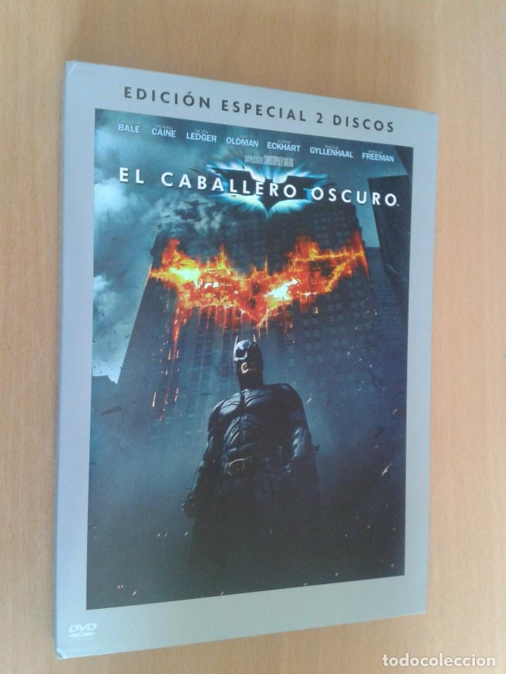 CINE DVD PELICULA EL CABALLERO OSCURO,BATMAN EDICION ESPECIAL 2 DISCOS (Cine - Películas - DVD)