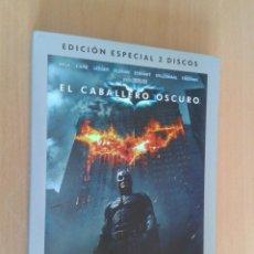 Cine: CINE DVD PELICULA EL CABALLERO OSCURO,BATMAN EDICION ESPECIAL 2 DISCOS. Lote 104435627