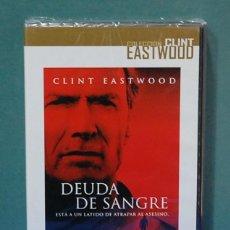 Cine: DEUDA DE SANGRE. DIRECTOR, CLINT EASTWOOD. DVD PRECINTADO. Lote 104574723