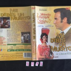Cine: ME DEBES UN MUERTO DVD - SEGUNDA MANO. Lote 104580292