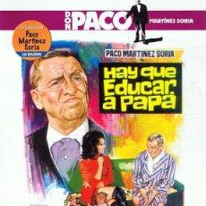 Cine: DVD HAY QUE EDUCAR A PAPÁ PACO MARTINEZ SORIA . Lote 104592375