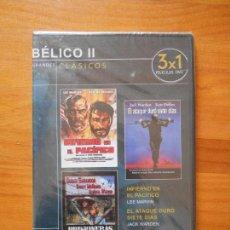 Cine: DVD CICLO BELICO II - INFIERNO EN EL PACIFICO / EL ATAQUE DURO SIETE DIAS /PRISIONERAS DE GUERRA (7R. Lote 104593315