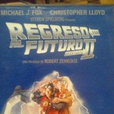 Cine: DVD REGRESO AL FUTURO II BACK TO THE FUTURE II 1989 ROBERT ZEMECKIS. Lote 104599039