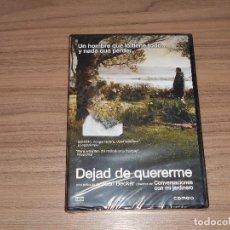 Cine: DEJAD DE QUERERME DVD DEL DIRECTOR DE CONVERSACIONES CON MI JARDINERO NUEVA PRECINTADA. Lote 126245058