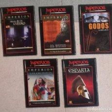 Cine: COLECCION IMPERIOS: LOTE DE 5 DVDS (EI). Lote 104834515