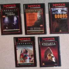 Cine: COLECCION IMPERIOS: LOTE DE 5 DVDS (EI). Lote 104834523