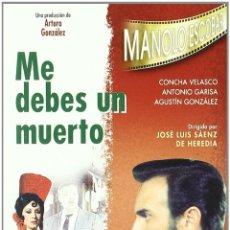 Cine: ME DEBES UN MUERTO DVD. Lote 104862048