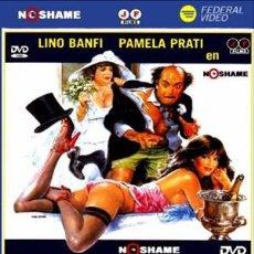 Cine: LA ENFERMERA, EL MARICA Y EL CACHONDO DE DON PEPPINO - LINO BANFI, PAMELA PRATI DVD NUEVO. Lote 104880827